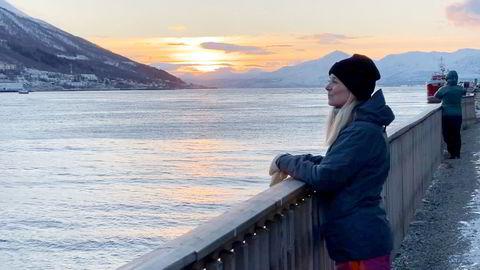 Lone Helle, reiselivsdirektøren i Tromsø, sier det gjør vondt i hjertet å oppleve den dramatiske turist- og inntektssvikten i Tromsø.