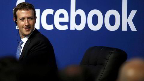 Direktør og grunnlegger av Facebook Mark Zuckerberg.
