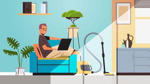 Dersom hjemmekontor er en fast ordning, må det inngås skriftlig avtale, skriver artikkelforfatterne.