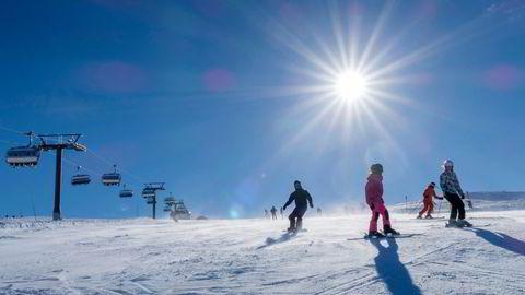 Skistar eier og driver alpinanleggene i Trysil (bildet) og Hemsedal i Norge.