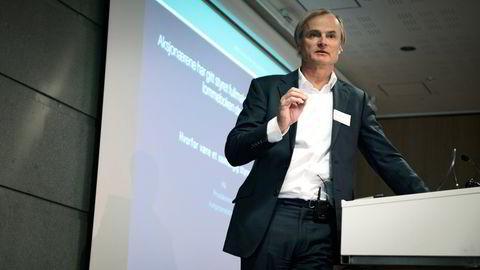Investor Øystein Stray Spetalen avkreftet fredag at han eide Nel-aksjer.
