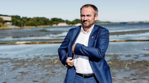 I november mistet Frp-ordfører Tom Henning Slethei (bildet) i Sola millionæren og Sola-væring Wiggo Erichsen til «skatteparadiset» Bø i Vesterålen. Selv har han ingen planer om å redusere formuesskatten i sin kommune.