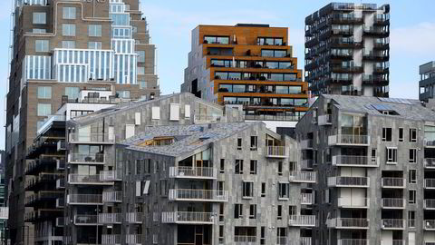 Arkitekturopprøret tar feil når eiendomsbransjen anklages for å ikke å bry seg om omgivelsene, skriver Stig Bech. Illustrasjonsfoto fra Bjørvika i Oslo.