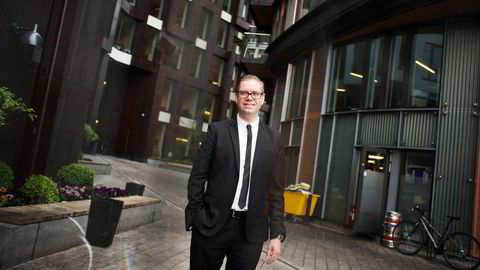 Seniorøkonom Marius Gonsholt Hov i Handelsbanken.