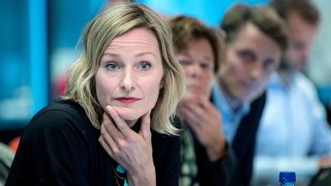 Inga Marte Thorkildsen (SV) går ut av Oslos Byråd