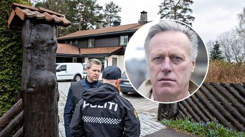 Anne-Elisabeth Hagens ektemann Tom Hagen er nå siktet for ulovlig oppbevaring av våpen i boligen på Lørenskog.