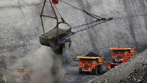 Nå kjemper verdens største private kullselskap, Peabody Energy, for å unngå konkurs. Bilde fra deres gruver i Oakland City, Indiana.