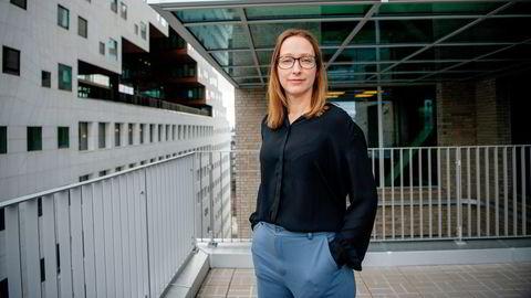 Sjeføkonom Kjersti Haugland i DNB Markets tror markedet frykter onsdagens rentemøte hos Den amerikanske sentralbanken.