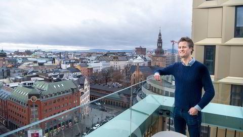 Koronakrisen har gitt oppstartsselskapet Ordr flere års forsprang på forretningsplanene de startet året med, sier gründer Edwin Fjeldtvedt. Nordic Choice-hotellet The Hub i Oslo sentrum har nettopp rullet ut appen deres.