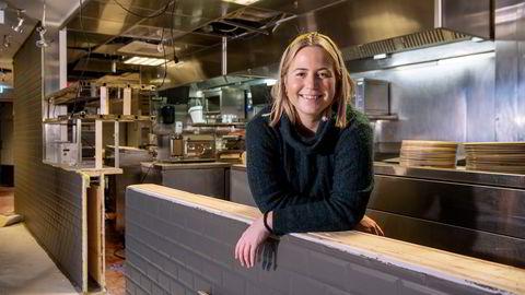 Vilde Bauer Andreassen er daglig leder for den nystartede restauranten Munnfull, som opplever massiv pågang fra arbeidssøkende.