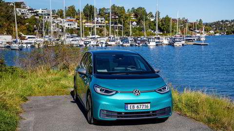 Elbilen Volkswagen id. 3 var Norges mest solgte bil i oktober.