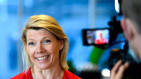 Konsernsjef i DNB, Kjerstin Braathen, vil neppe få nei fra Konkurransetilsynet.