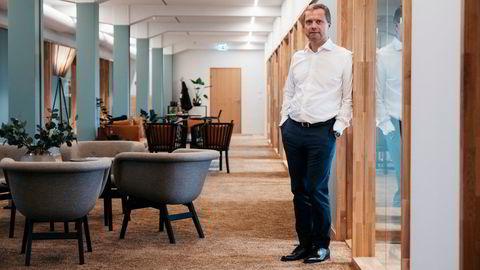 Harald Espedal forvalter sin egen og andres formue gjennom selskapet Salt value AS. Her er han i kontorbygningen han nylig kjøpte i Stavanger sentrum.