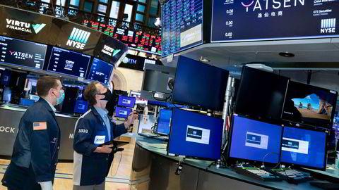 Alle de tre nøkkelindeksene på Wall Street steg i 2020.