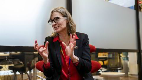 – 80 prosent av våre utslipp er knyttet opp til elnettene i Asia, sier Anne Kvam, konserndirektør i Telenor.