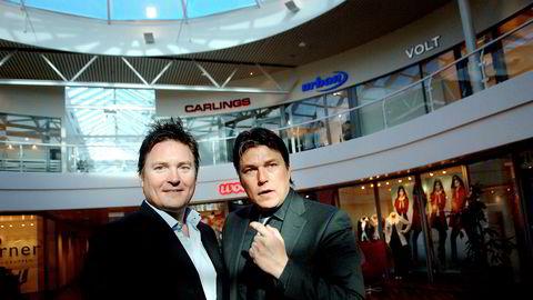 Fra venstre er Marius Varner og Petter Varner i Varner Gruppen, som eier Junkyard. Petter Varner sitter i styret til Tpt as, som eier Junkyard-merkevaren, sammen med Stein Marius Varner og Joakim Varner.
