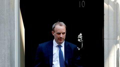 Den britiske utenriksministeren Dominic Raab
