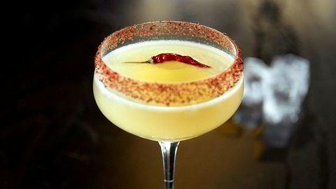 Sterkt på stett. El Mexicano er i bunn og grunn en Margarita med ekstra futt.