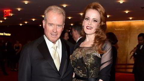 Robert Mercer og datteren Rebekah Mercer, her på en gallakonsert i Lincoln Center i New York i 2017.