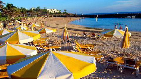 Lanzarote i Spania er blant turistdestinasjonene som ble hardt rammet av reiserestriksjonene som fulgte med koronaviruset.