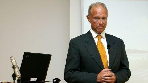 Arne A. Jensen, tidligere sjef i TV 2 og Braathens.