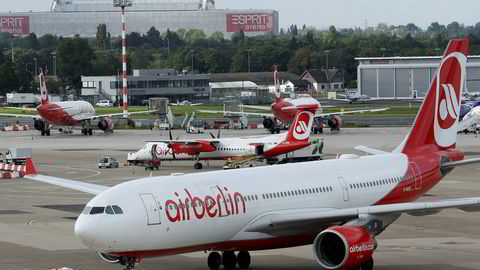 Air Berlin er historie, snart tre år etter at ruten mellom Oslo og Berlin ble lagt ned.