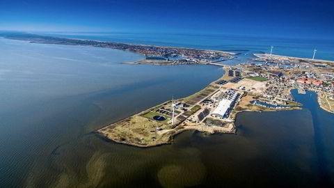 Atlantic Sapphires danske virksomhet ligger i Hvide Sande, en liten fiskelandsby på vestkysten av Jylland