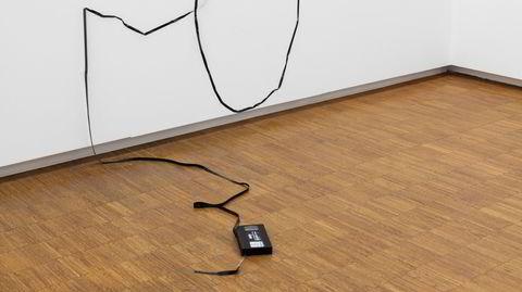 Stiller ut. – Misunnelse som begrep i kunst og som et begrep i livet generelt, er jo noe man forholder seg til, sier Matias Faldbakken om tittelen på verket, «Envy».