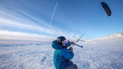 Kiter Camilla Ringvold: – Jeg kan kontrollere en kraft som ingen kan se. Det er litt magisk