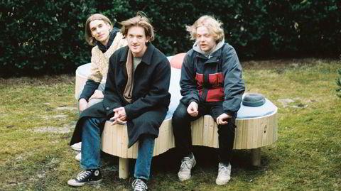Popkollektivet Tigerstate, ved tre av dem: Andreas Rukan (fra venstre), Elias Tafjord og Iver Armand Tandsether.