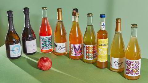 – Et knippe alkoholfrie alternativer til vin som ikke er for søte, og derfor passer sammen med mat.