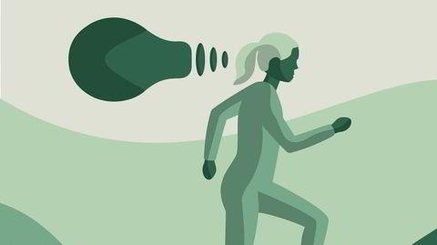 Forskning viser at det å være i bevegelse påvirker hjernen mer enn det meste annet, den kjappeste veien til økt kreativitet er trolig å ta seg en løpetur.
