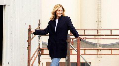 På høyden. Kaja Skovborg-Hansen hadde aldri jobbet med restaurantdrift da hun ble spurt om hun ville være med på å starte Vippa. – Poenget er å syngliggjøre forbindelsen mellom dyrkingen og matbodene, sier hun om takhagen de er i gang med å planlegge.