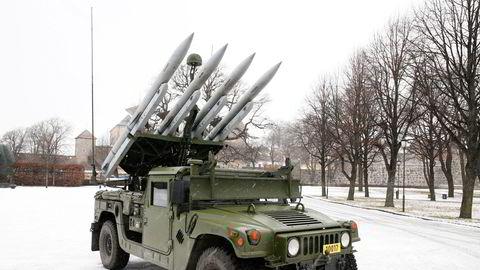 Forsvaret fikk kjøretøy med kampluftvern etter kontrakt med Kongsberg-gruppen i 2017. Det europeiske forsvarsfond (EDF) åpner større muligheter for norsk forsvarsindustri.