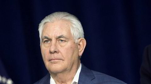 Ifølge den amerikanske avisen er Tillerson ferdig som utenriksminister.