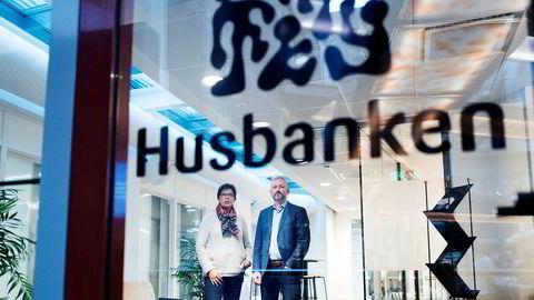 Konstituert regiondirektør Karin Lindgård og avdelingsdirektør Per-Erik Torp i Husbanken har stanset alle utbetalinger til Boligbygg.