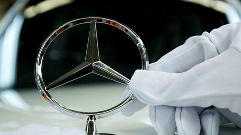Diesel-skandalen koster Mercedes dyrt.