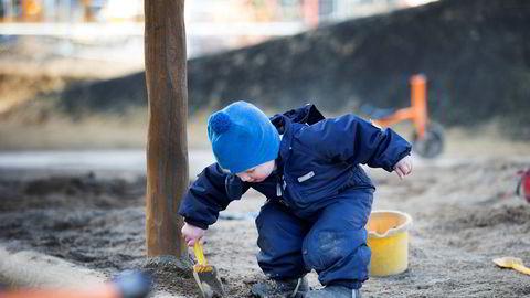 Mange små barnehager har varslet at de trolig må legge ned når regjeringen skjerper kravene til pedagogtetthet og bemanning. Foto: Gorm Kallestad / NTB scanpix