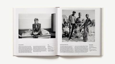 A-B-C. David Bowie til venstre, moteikonet som alltid strebet etter å være et skritt foran. Til høyre, et foto tatt av Kwambe Brathwaite. Harlem-fotografen som bidro til å popularisere slagordet «Black is Beautiful» på 1960-tallet.