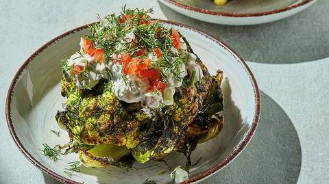 På topp. Blomkål kalles gjerne grønnsakenes «hvite dronning», og er svært næringsrik.