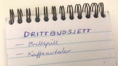 Sett deg opp en liste over ting du skal drite i, er et av rådene i boken «Drit i det!».