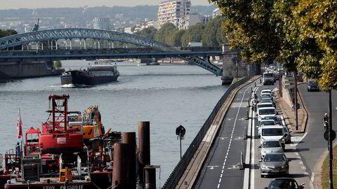 Paris er blant byene som planlegger å forby bensinbiler i fremtiden.