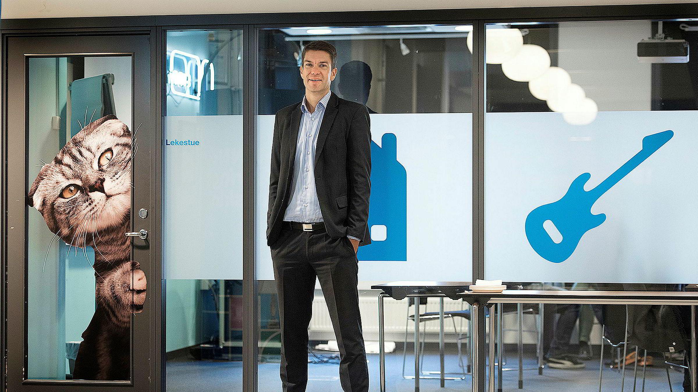 – Dette har vi ventet og er forberedt på, sier administrerende direktør Anders Skoe i Finn om Facebooks inntog.
