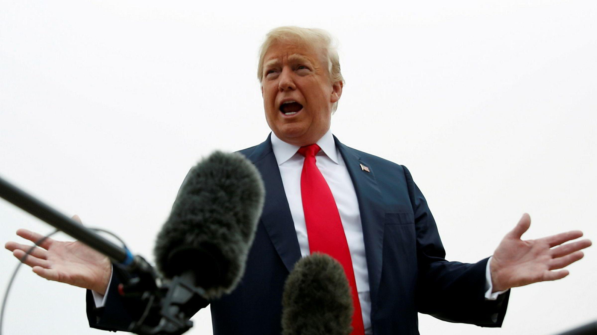 Donald Trumps administrasjon fornyer ikke unntakene i de nye tollsatsene for sine nærmeste allierte og handelspartnere.