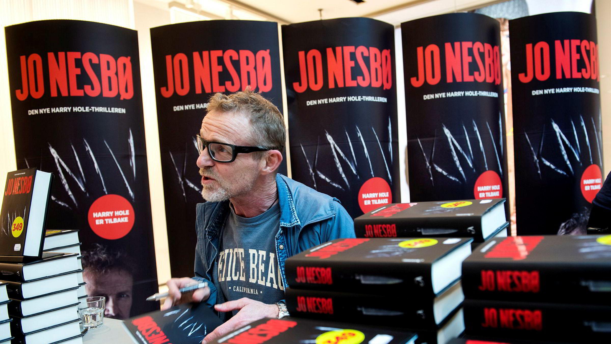 Jo Nesbøs siste Harry Hole-roman heter «Kniv» og ble lansert i fjor.
