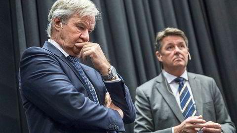 Konsernsjef Bjørn Kjos trekker seg som konsernsjef i Norwegian. Finansdirektør Geir Karlsen tar over som midlertidig direktør.