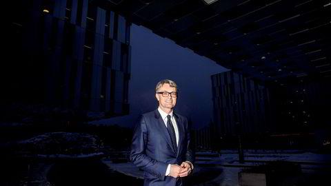 Aker-sjef Øyvind Eriksen gir et par hint om hva som kan komme til å skje i 2018.