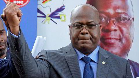 Felix Tshisekedi er erklært som ny president i Kongo.