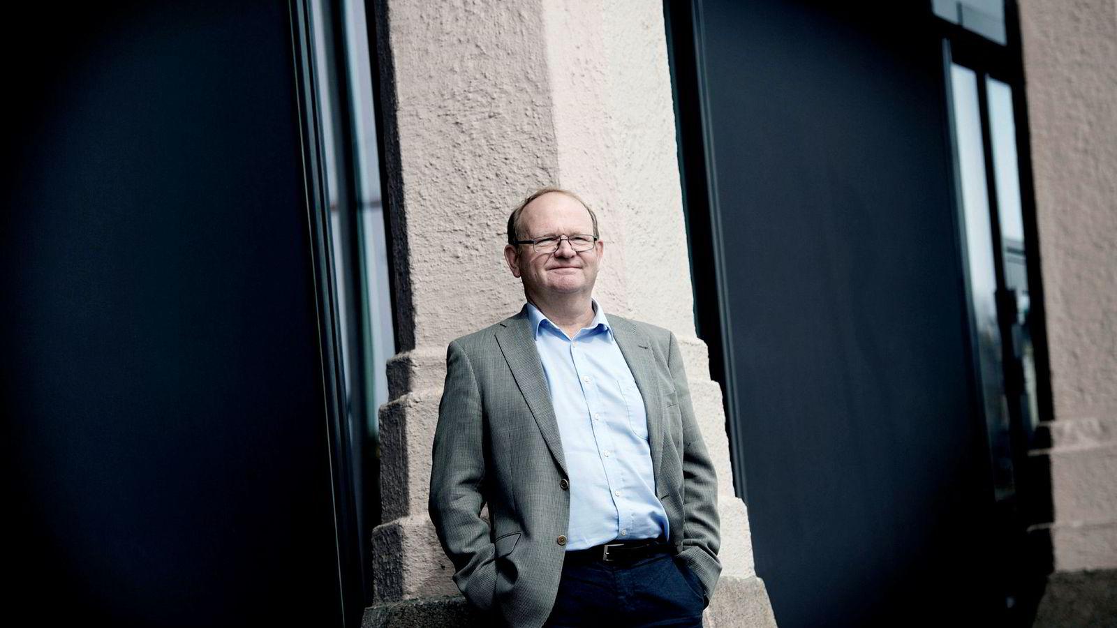 Per Einar Ruud, kredittøkonom i Bisnode, er ikke i tvil om at konkurstallene er et klart signal om at det går bedre for næringslivet.