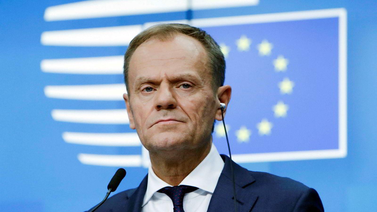 EU-president Donald Tusk, som snart går av, satte et solid punktum da han holdt tale i FN denne uken.
